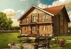 Тематическая картинка Деревянный дом