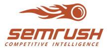 Сервис SemRush для отслеживания и анализа веб-аналитики сайта в интернете