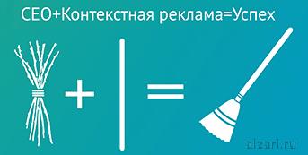SEO продвижение сайта в совокупности с контекстной рекламой