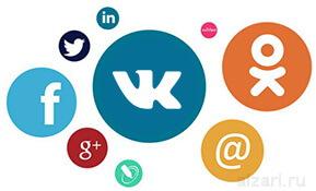 Самые популярные социальные сети в России