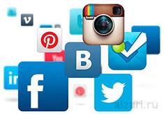 Интересные материал про социальные сети в интернете