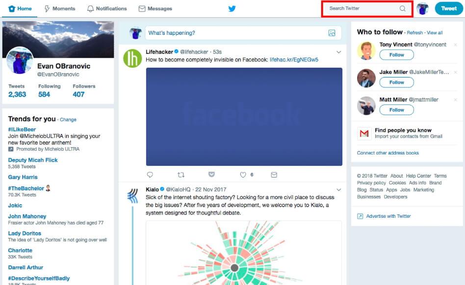 Социальная сеть Twitter и ее главные особенности