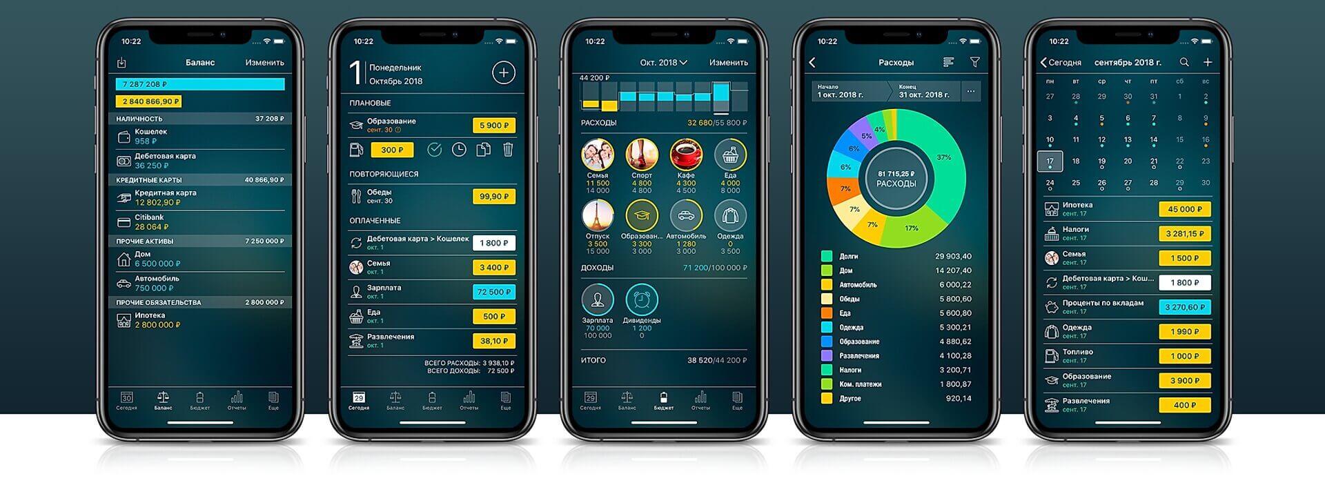 Приложения и заметки для фиксации всех расходов в телефоне